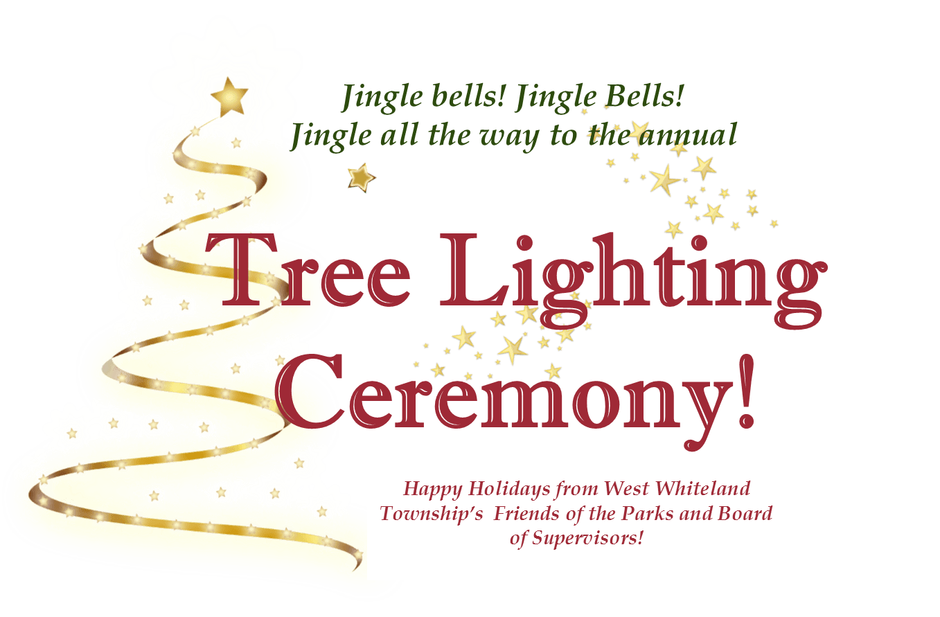 tree lighting on website