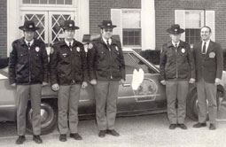 Police Officers Historical Photo
