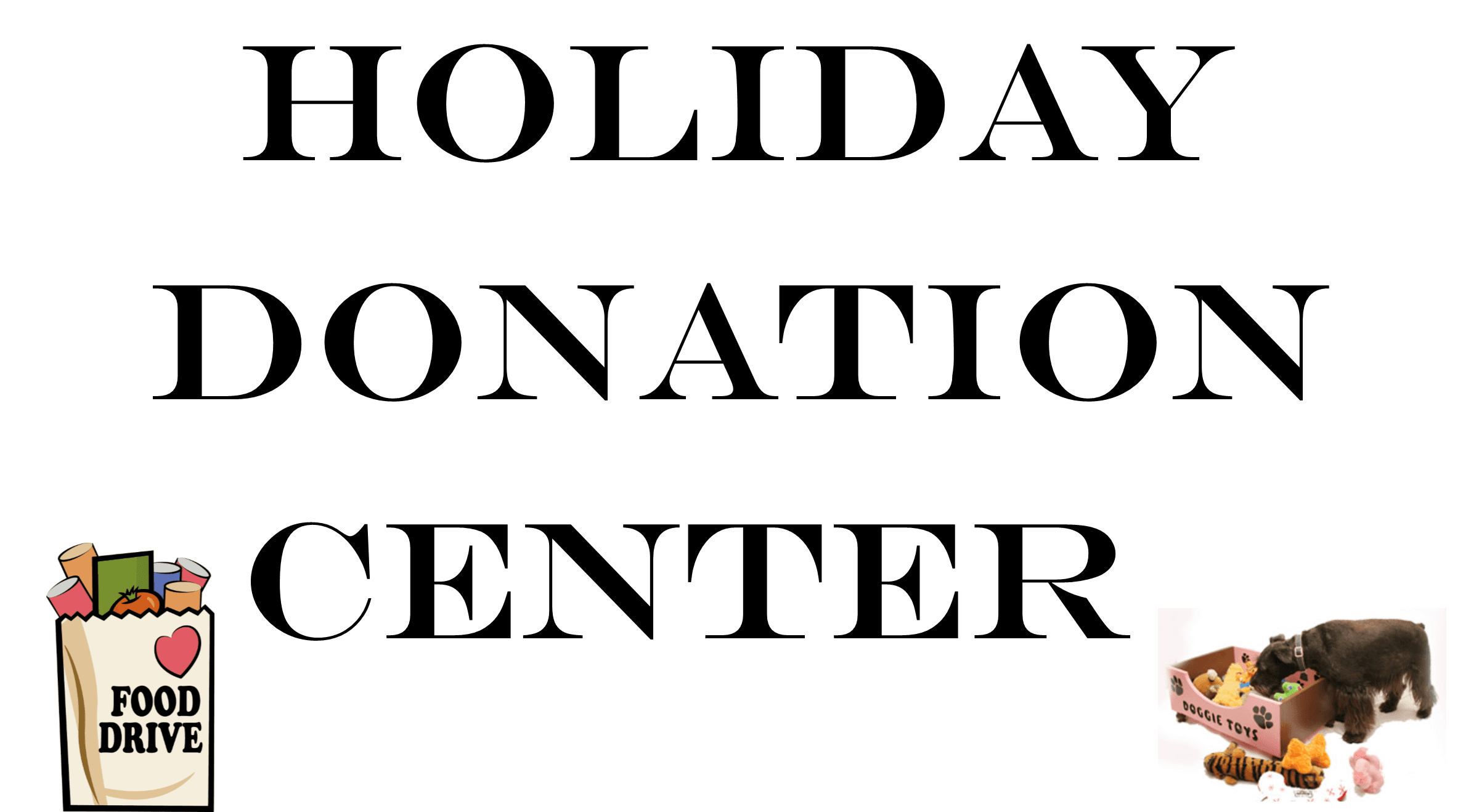 Holiday Donation Center