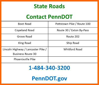 State Road call PennDOT FB