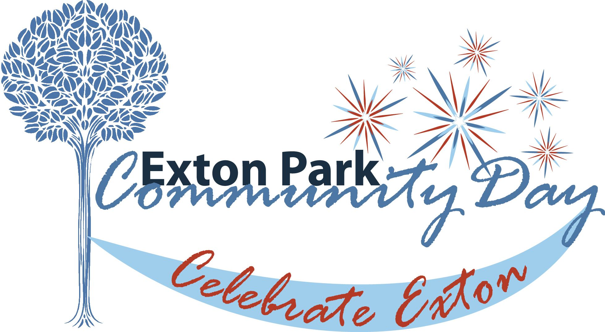 Exton Park  Community Day Logo