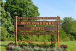 Boot Road Park Sign 5.08